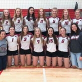 Volleyball Team Advances to Regional Tournament